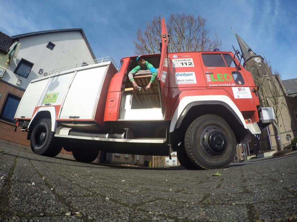 Feuerwehrauto Team BorderCross